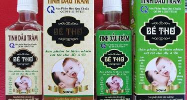 Chia sẻ cách sử dụng tinh dầu Tràm cho trẻ em và mẹ bầu