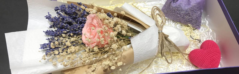 Lavender canh dong hoa oai huong
