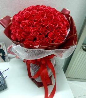 Bó hoa hồng đỏ 99b