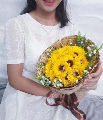 Bó hoa hướng dương cao cấp