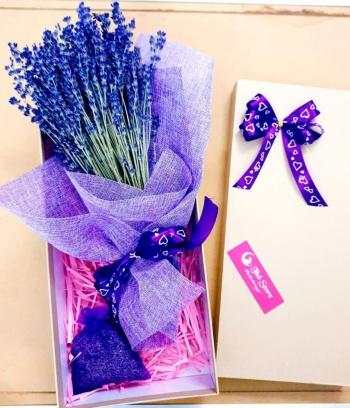 Combo Lavender bó nhỏ + túi thơm