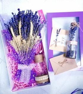 Combo Lavender hộp tím 600