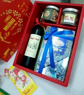 HQ007 - Giỏ quà Tết  An Khang phồn vinh
