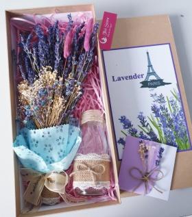Hộp Quà Lavender xinh xắn điểm Bloom nhiều màu